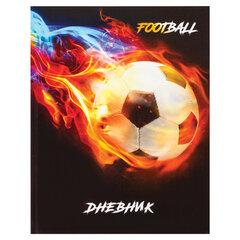 Дневник 1-4 класс, 48 л., твердый, ЮНЛАНДИЯ, глянцевая ламинация, с подсказом, «Живи футболом», 106020