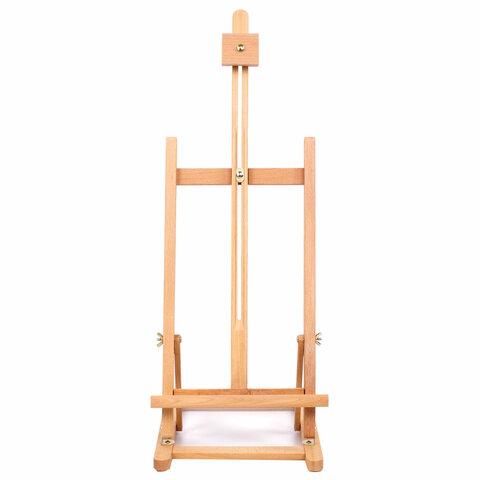 Анонс-изображение товара мольберт настольный brauberg art classic, бук, 28х96х32см, высота холста 53см, 190656