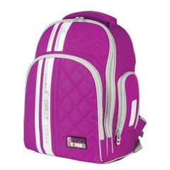 Рюкзак TIGER FAMILY (ТАЙГЕР), 19 л, с ортопедической спинкой, для средней школы, универсальный, фиолетовый, 39х31х22 см