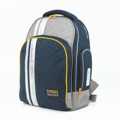 Рюкзак TIGER FAMILY (ТАЙГЕР), с ортопедической спинкой, для средней школы, черный/серый, 39х31х20 см, TGRW-008A