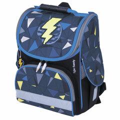 "Ранец TIGER FAMILY для начальной школы, Nature Quest, ""Lightning Power"", 35х31х19 см, 228876"