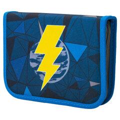 """Пенал TIGER FAMILY 1 отделение, 1 откидная планка, ткань, """"Lightning Power"""", 20х14х4 см, 228892"""