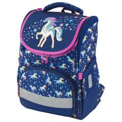 """Ранец TIGER FAMILY для начальной школы, Earnest, """"Rainbow Horse"""", 39х31х23 см, 228916"""