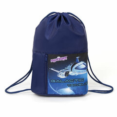 Мешок для обуви ЮНЛАНДИЯ, дизайн на кармане, 35х42 см, «Galactic traveller», 229415