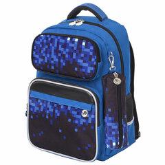 Рюкзак ЮНЛАНДИЯ COMPLETE, с пеналом в комплекте, эрго-спинка, «Pixels», 42х29х14 см, 229974