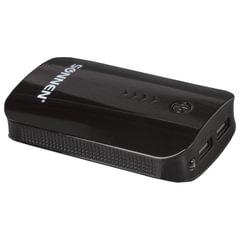 Аккумулятор внешний SONNEN POWERBANK V203, 6000 mAh, 2 USB, литий-ионный, черный, 262754