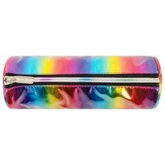 Пенал-косметичка ЮНЛАНДИЯ на молнии, мягкий, «Rainbow», 22х8 см, 270052