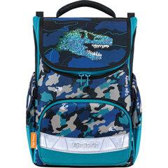 """Ранец TIGER FAMILY для начальной школы, Earnest, """"Dino Expedition"""", 39х31х23 см, 270209"""