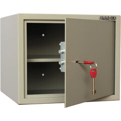 """Сейф мебельный BRABIX """"D-29m"""", 290х350х300 мм, 9 кг, ключевой замок, крепление к стене, 291163"""