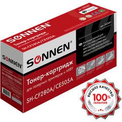 Картридж лазерный SONNEN (SH-CF280A/CE505A) для HP LJ M401/425/P2035/2055, ВЫСШЕЕ КАЧЕСТВО, ресурс 2300 стр., 362441