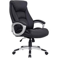 """Кресло из натуральной кожи BRABIX """"Grand EX-500"""", черное, 530861"""