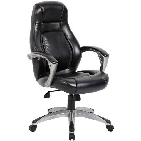 """Кресло офисное BRABIX PREMIUM """"Turbo EX-569"""", экокожа, спортивный дизайн, черное, 531014"""
