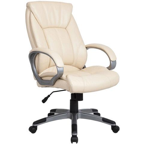 "Кресло офисное BRABIX ""Maestro EX-506"", экокожа, бежевое, 531168"