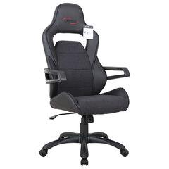 """Кресло компьютерное BRABIX """"Nitro GM-001"""", ткань, экокожа, черное, 531817"""