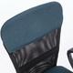 """Кресло КОМПАКТНОЕ BRABIX """"Jet MG-315"""", с подлокотниками, серо-синее, 531842"""