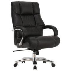 """Кресло офисное BRABIX PREMIUM """"Bomer HD-007"""", НАГРУЗКА до 250 кг, рециклированная кожа, хром, черное, 531939"""