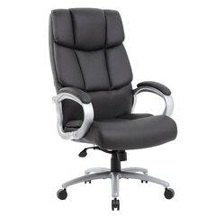 """Кресло офисное BRABIX PREMIUM """"Blocks HD-008"""", НАГРУЗКА до 200 кг, экокожа, черное, 531944"""