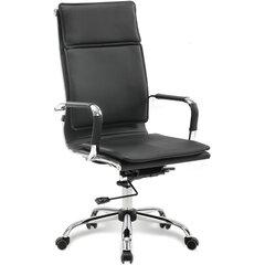 """Кресло офисное BRABIX """"Cube EX-523"""", экокожа, хром, черное, 531946"""