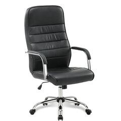 """Кресло офисное BRABIX """"Stark EX-547"""", экокожа, хром, черное, 531948"""