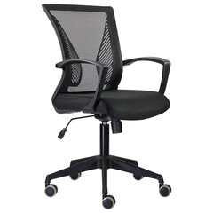 """Кресло BRABIX """"Wings MG-309"""", пластик черный, сетка, черное, 532015"""