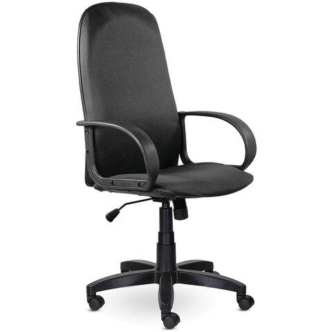 """Кресло офисное BRABIX """"Praktik EX-279"""", ткань JP/кожзам, серое, 532020"""
