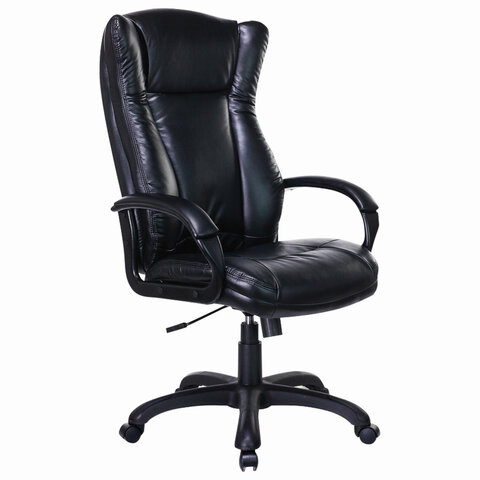 """Кресло офисное BRABIX PREMIUM """"Boss EX-591"""", экокожа, черное, 532099"""