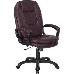 """Кресло офисное BRABIX PREMIUM """"Trend EX-568"""", экокожа, коричневое, 532101"""