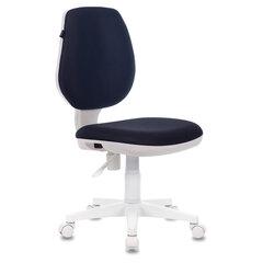 """Кресло BRABIX """"Fancy MG-201W"""", без подлокотников, пластик белый, серое, 532412"""