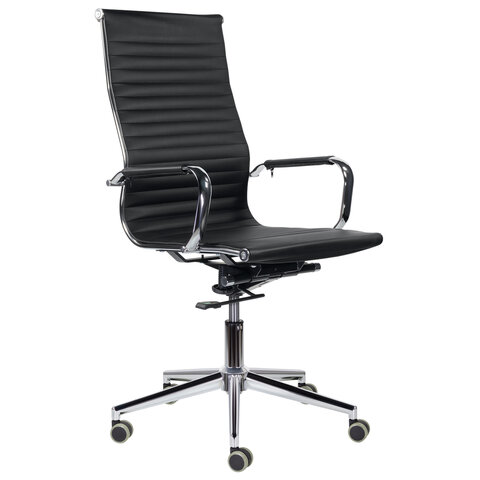 """Кресло офисное BRABIX PREMIUM """"Intense EX-531"""", экокожа, хром, черное, 532540"""