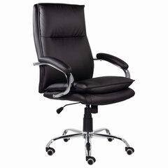 """Кресло офисное BRABIX PREMIUM """"Cuba EX-542"""", экокожа, черное, 532549"""