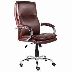 """Кресло офисное BRABIX PREMIUM """"Cuba EX-542"""", экокожа, коричневое, 532550"""