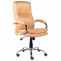 """Кресло офисное BRABIX PREMIUM """"Cuba EX-542"""", экокожа, бежевое, 532551"""
