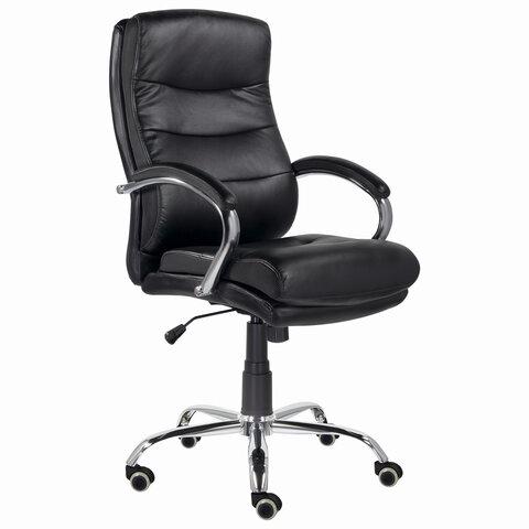 """Кресло офисное BRABIX PREMIUM """"Bruno EX-543"""", экокожа, черное, 532552"""