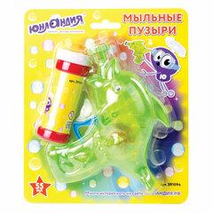 Мыльные пузыри ЮНЛАНДИЯ, 55 мл, с игрушкой «Пистолет», 591094