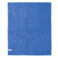 Тряпка для мытья пола из микрофибры, СУПЕР ПЛОТНАЯ, 70х80 см, синяя, LAIMA, 601250