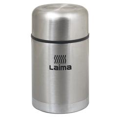 Термос LAIMA универсальный с широким горлом, 0,8 л, нержавеющая сталь, 601408