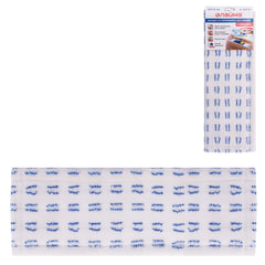 Насадка МОП плоская для швабры/держателя 40 см, карманы (ТИП К), микрофибра/абразив, LAIMA, 603120