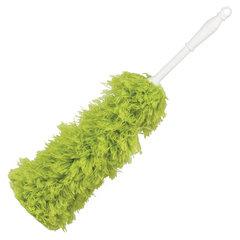 Сметка-метелка для смахивания пыли LAIMA, 58 см, зеленая, 603618