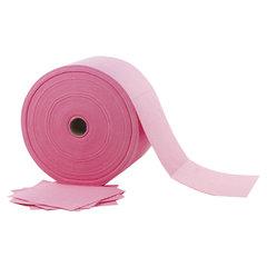 Салфетки универсальные в рулоне 480 шт., 23х23 см, вискоза (ИПП), 110 г/м2, розовые, LAIMA EXPERT, 605495