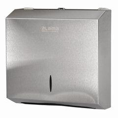 Диспенсер для полотенец LAIMA PROFESSIONAL INOX, (Система H2) Z-сложения, нержавеющая сталь, матовый, 605694