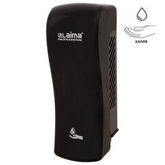 Диспенсер для жидкого мыла LAIMA PROFESSIONAL ORIGINAL, НАЛИВНОЙ, 0,8 л, черный, ABS-пластик, 605775