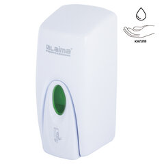 Диспенсер для жидкого мыла LAIMA PROFESSIONAL ORIGINAL, НАЛИВНОЙ, 1 л, белый, ABS-пластик, 605782