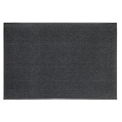 Коврик придверный ИЗНОСОСТОЙКИЙ влаговпитывающий, 120х180 см, ТАФТИНГ, СЕРЫЙ, LAIMA EXPERT, 606887