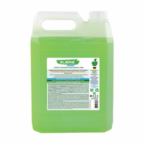 """Средство для уборки туалета антибактериальное 5 л, LAIMA EXPERT """"Чайное дерево и эвкалипт"""", гель, 607762"""