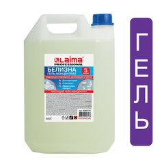 Средство для отбеливания, дезинфекции и уборки 5 л БЕЛИЗНА-ГЕЛЬ, LAIMA PROFESSIONAL, 880294